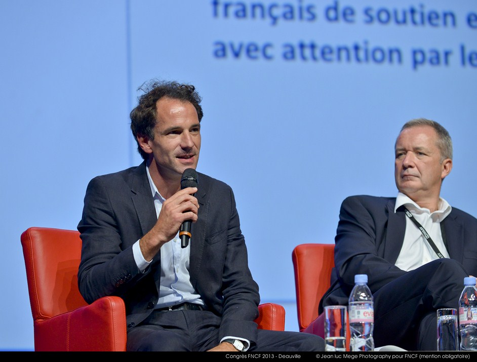 <strong>Xavier Lardoux, Directeur général adjoint UniFrance films</strong>