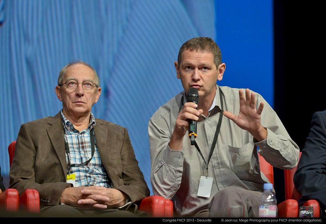 <strong>Michel Humbert et Youen Bernard, Présidents adjoints de la FNCF</strong>