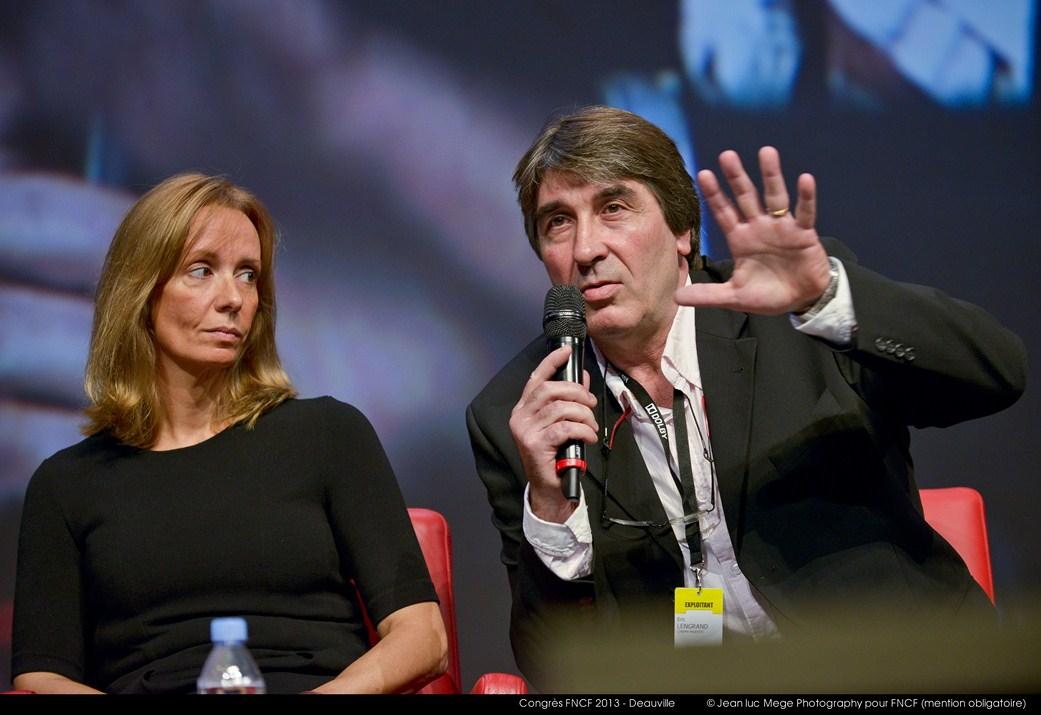 <strong>Marie-Christine Désandré (Secrétaire générale de la FNCF) et Eric Lengrand (Président adjoint de la FNCF)</strong>
