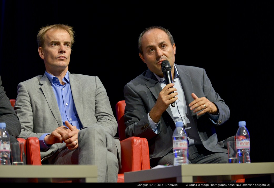 <strong>Philippe Baud (Président de la Commission de branche de la moyenne exploitation) et Yves Sutter (Président de la Commission de branche de la grande exploitation)</strong>