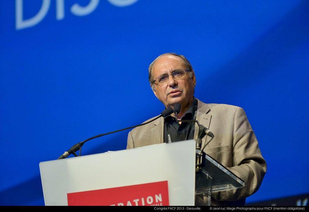 <strong>Bernard Lafon, Président de la Commission Education à l'image</strong>