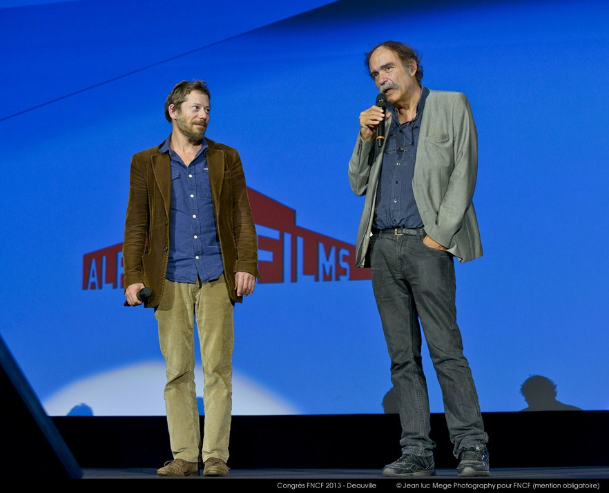 <strong>Mathieu Amalric et Paulo Branco</strong><br/>