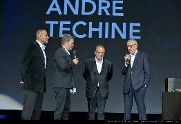 <strong>Stéphane Rideau, Gaël Morel, Jean-Pierre Lavoignat et André Téchiné</strong>