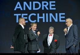 <strong>Stéphane Rideau, Gaël Morel, Richard Patry et André Téchiné</strong>