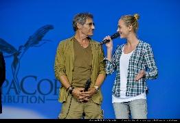 <strong>Gérard Lanvin et Nora Arnezeder</strong>