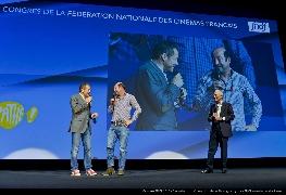 <strong>Dany Boon, Kad Merad et Jérôme Seydoux</strong>