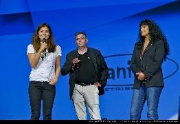 <strong>Mylène Jampanoï, Arnaud Kerneguez et Nathalie Saracco</strong>